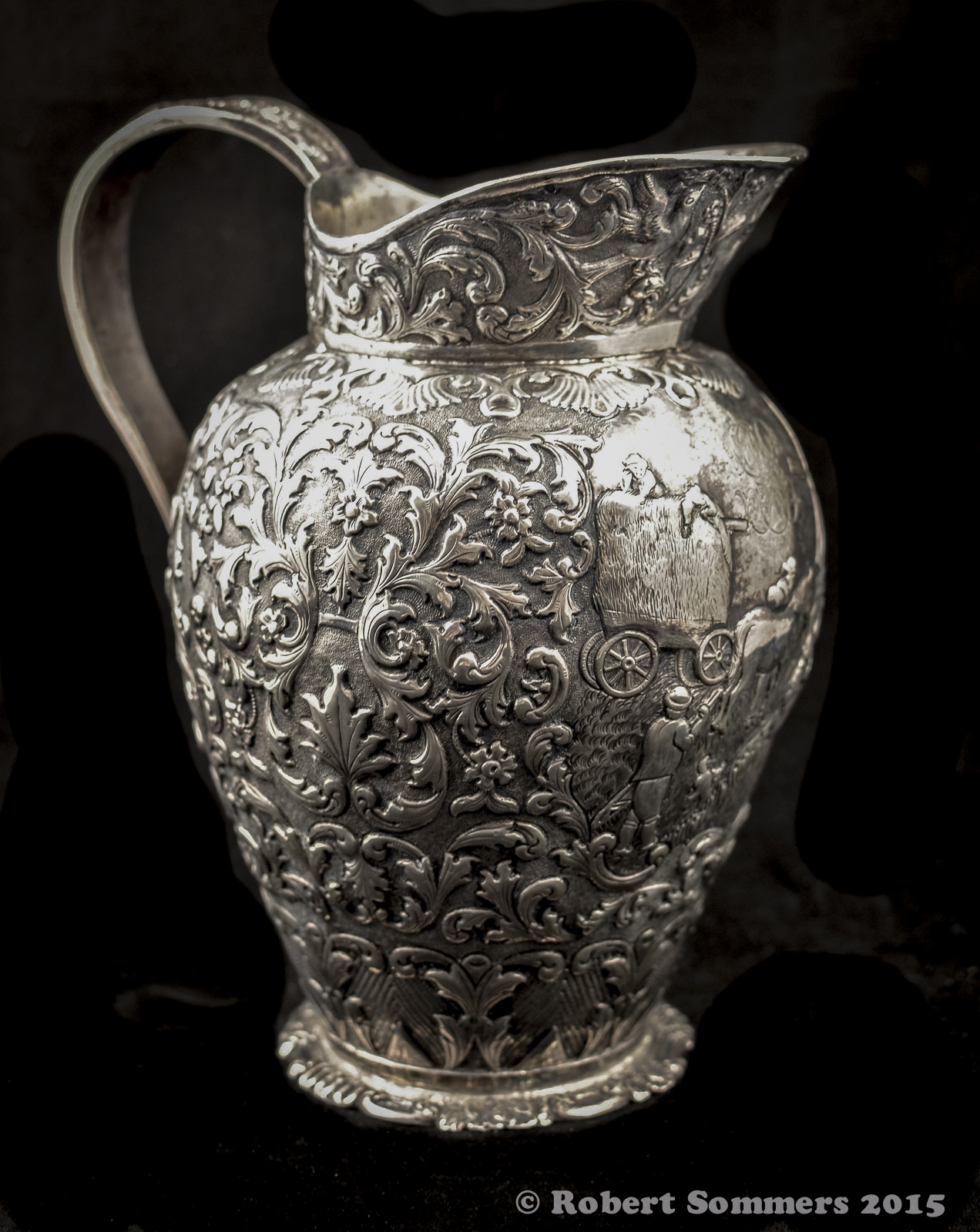 dutch silver pitcher