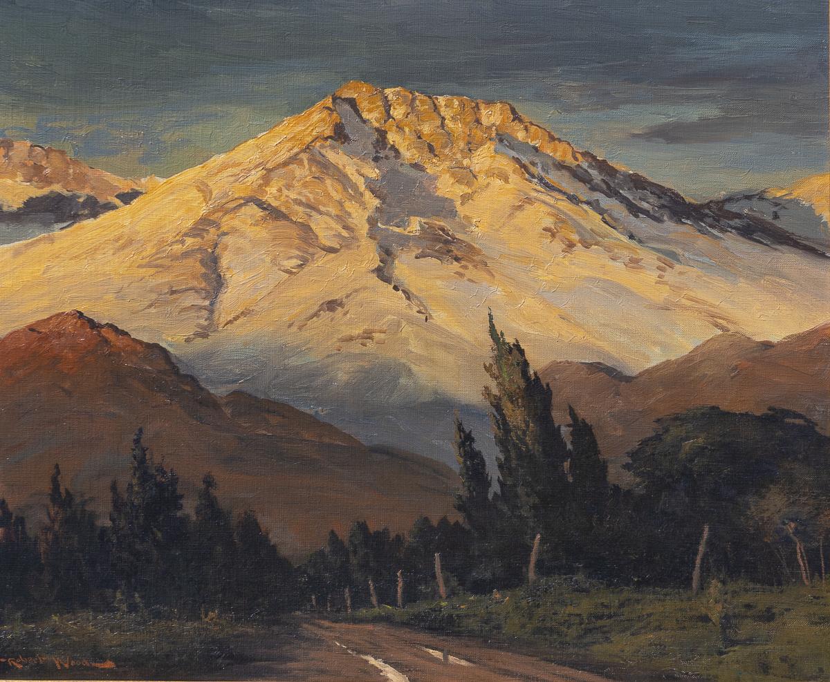 """Basin Mountain - 20 x 24"""""""