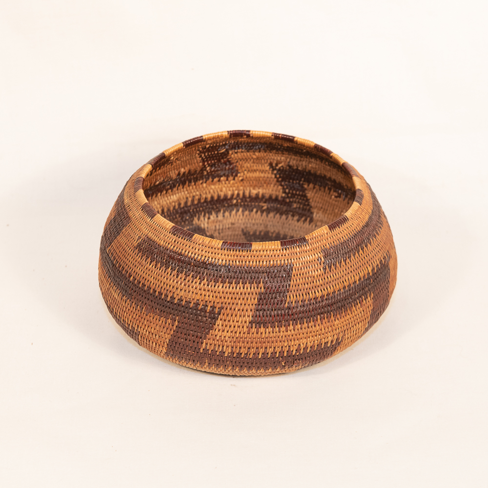 Pomo basket native american