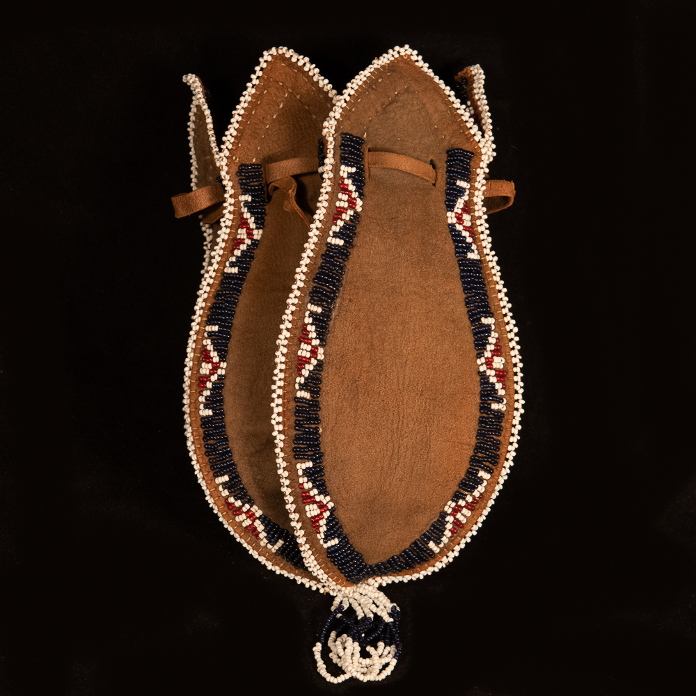 Lakota beaded bag