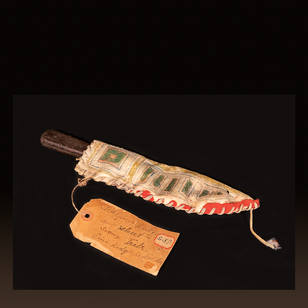 Sioux knife from Wounded Knee