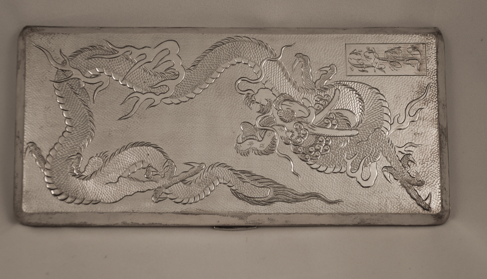 chinese export cigarette box