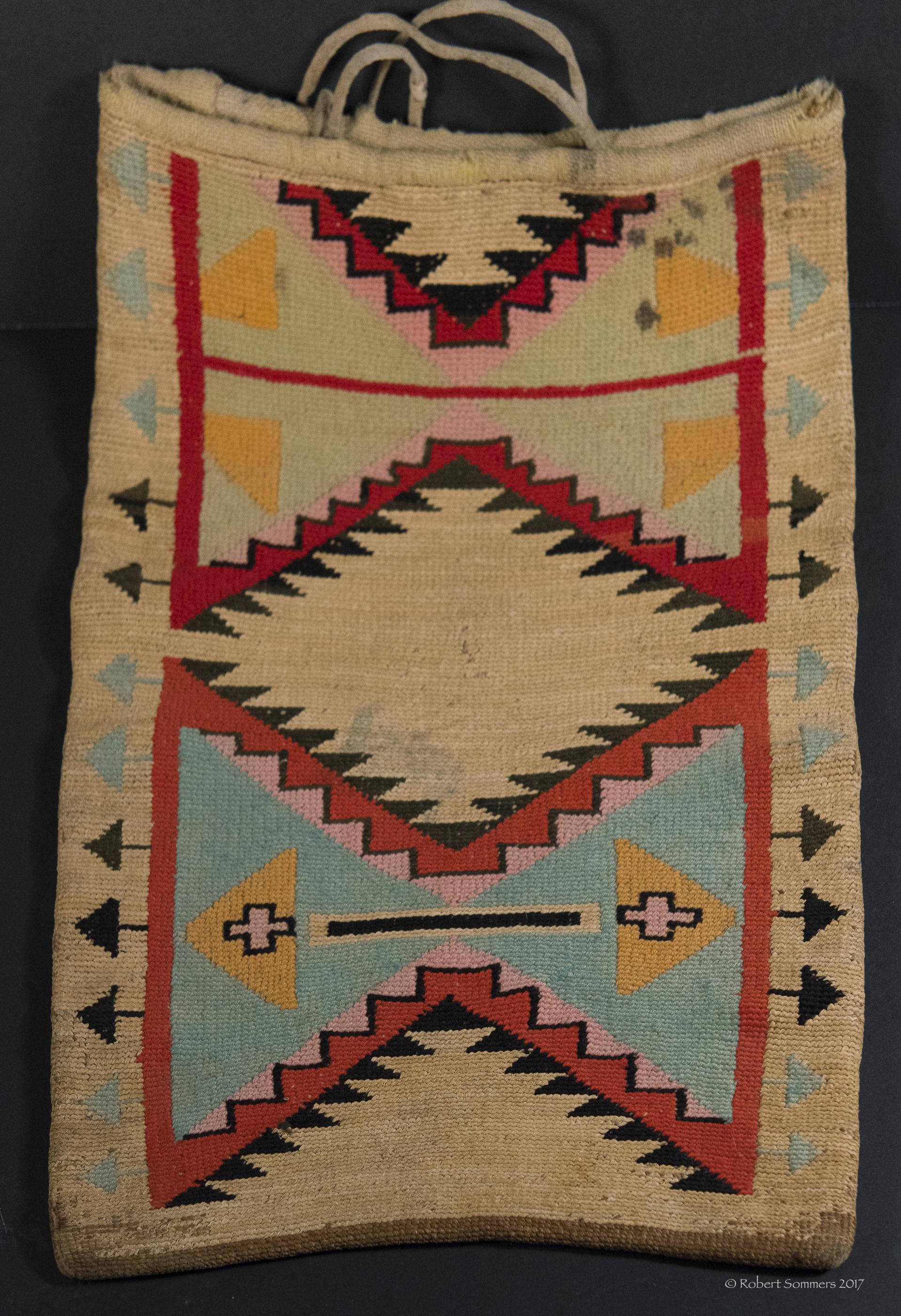 Nez Pierce Corn Husk Bag