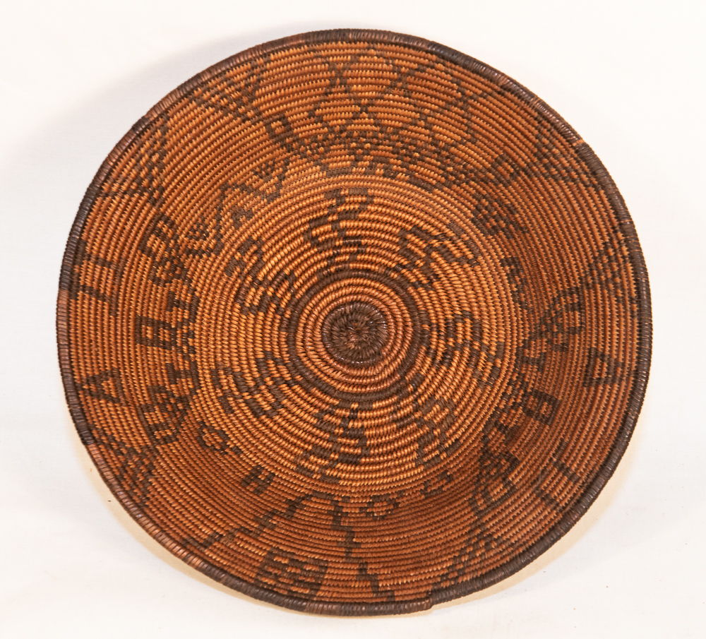 Apache pictorial basket