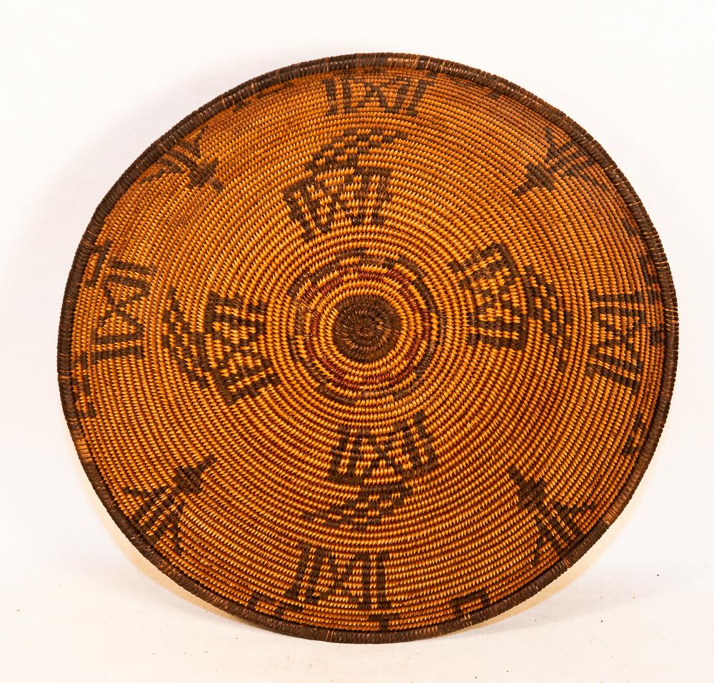 apache polychrome basket Gaan gan Ga'an