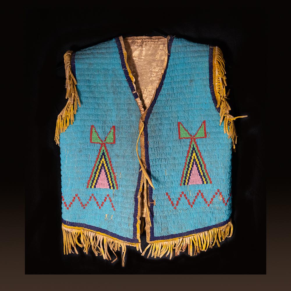 Northern Plains child's vest