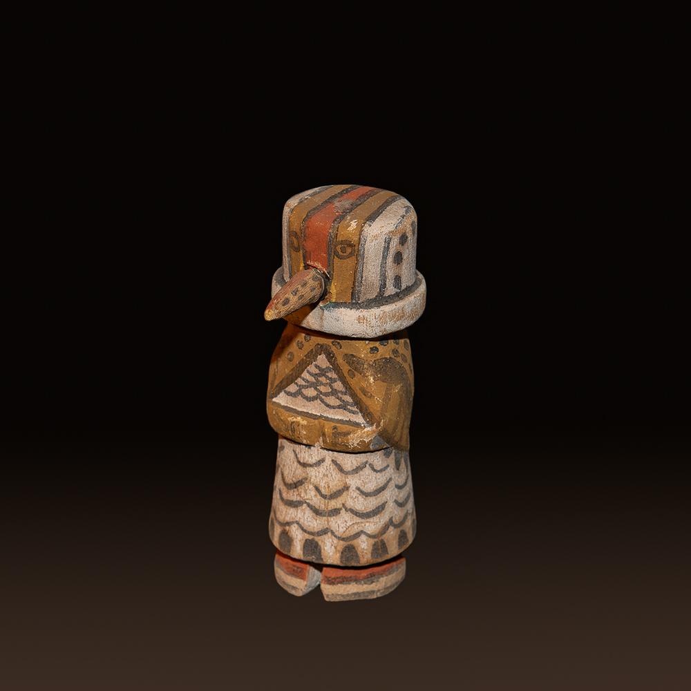 Wilson Tawaquaptewa Woodpecker Kachina Doll